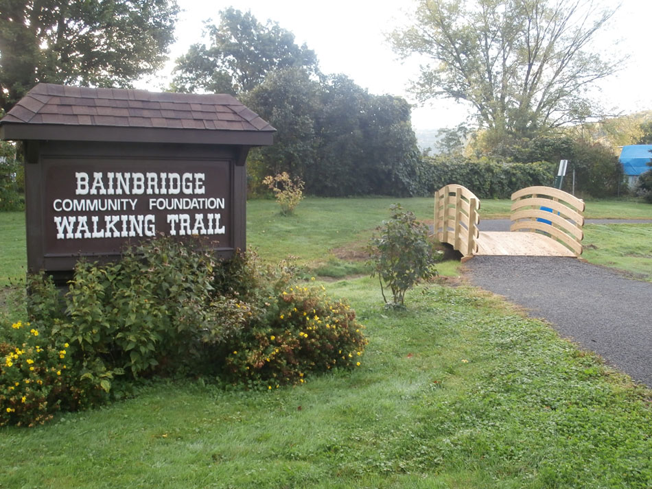 BCF Walking Trail General Clinton Park Bainbridge NY